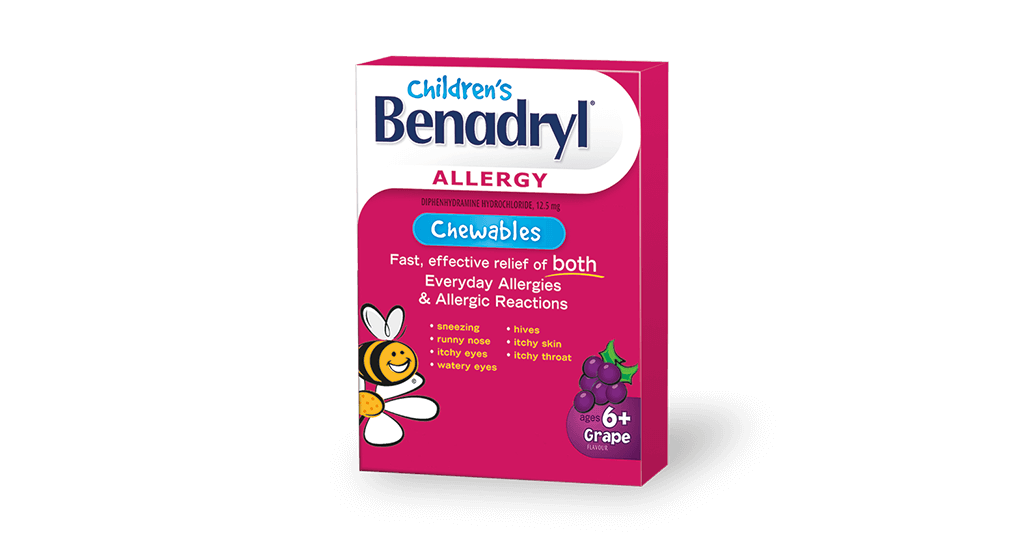 Children's BENADRYL® Chewables