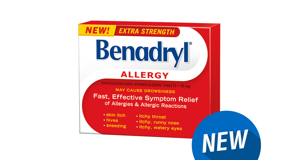 BENADRYL® Extra-puissant Allergies
