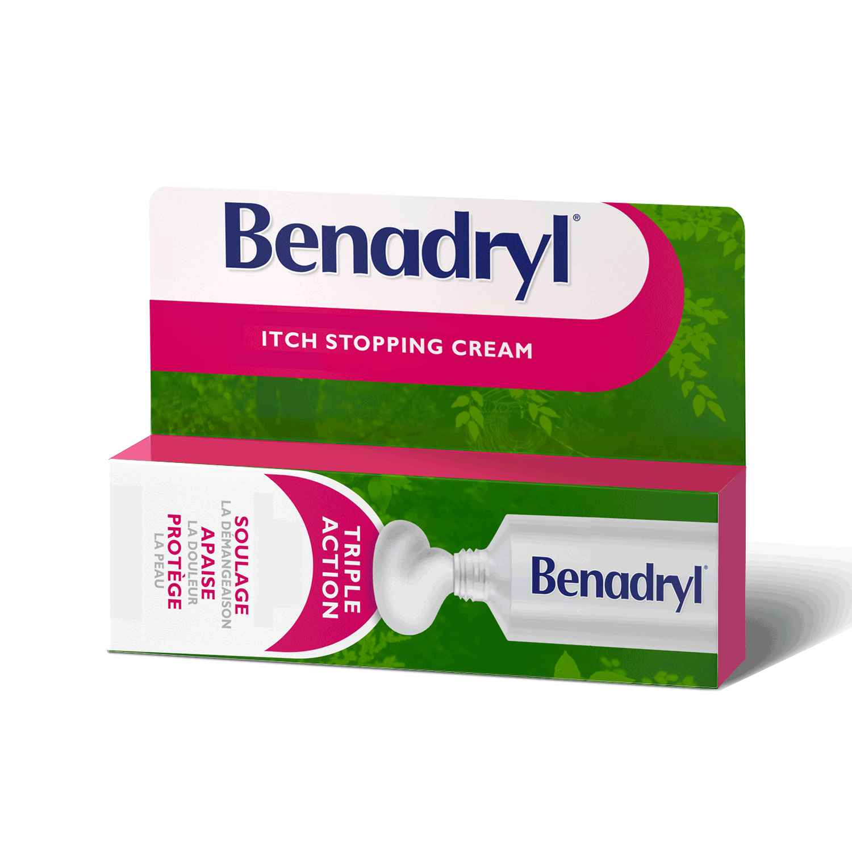 benadryl and steroids