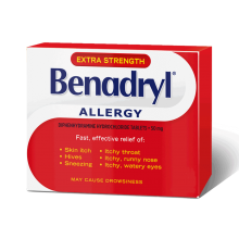 Extra Strength BENADRYL® Allergy