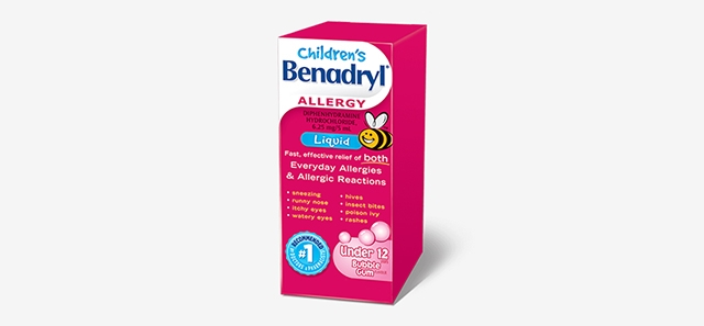 Children's BENADRYL® Liquid