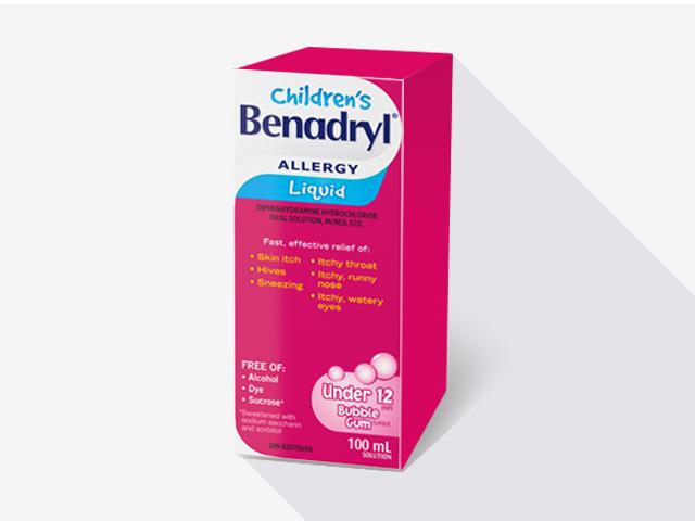 Children's BENADRYL® Liquid